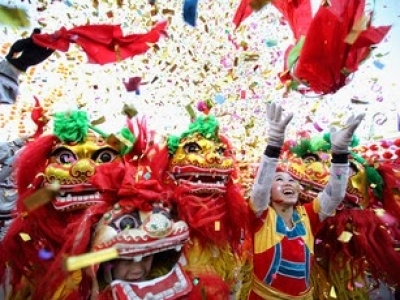 Lion Dance Peking